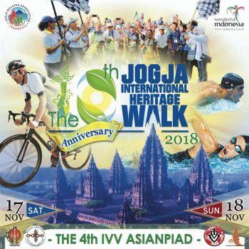 10th Jogja Int Heritage Walk - IVV- Asianpiad