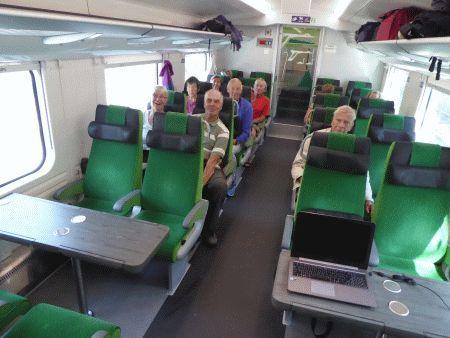 trein naar Vaasa