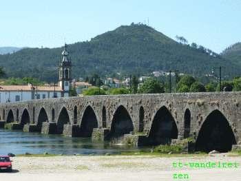 Portugal 2017 Portugues Camino a Santiago. ponte de Lima