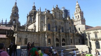 Kathedraal santiago de composteal