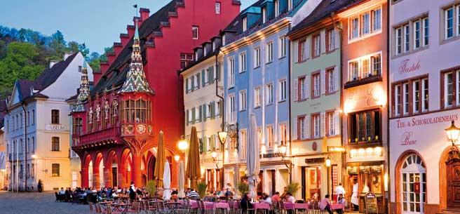 Freiburg oude stad