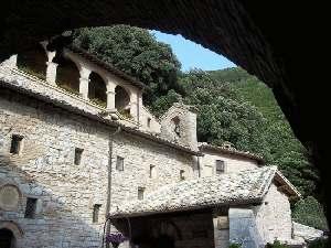 klooster eremo delle carceri