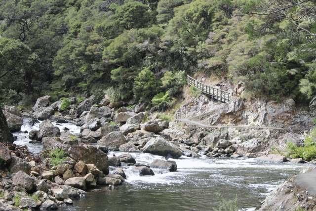 wandeling Karangahake Gorges