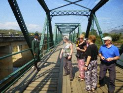 Historische spoorbrug bij Pai