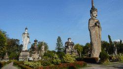 Sala Keoku Wat Khaek in Nong Khai