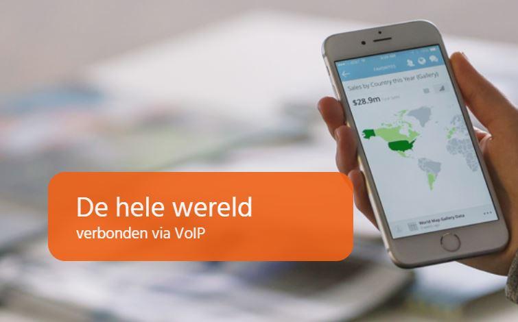 De hele wereld verbonden via VoIP