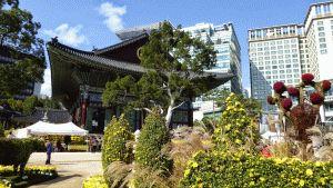 Bongeunsa boeddhistische Tempel seoul
