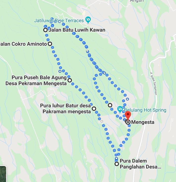 route Paddy Flied walk