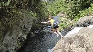 Sambangan watervallen grensverleggend