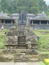 Hindu tempel op Java
