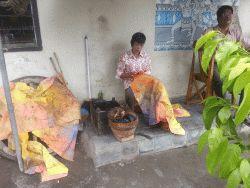 Batik een huisvlijt in Jogjakarta