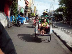 Becak Yogyakarta