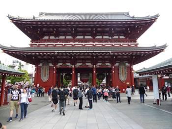 Asakusa-Tokyo-Kannon-Temple