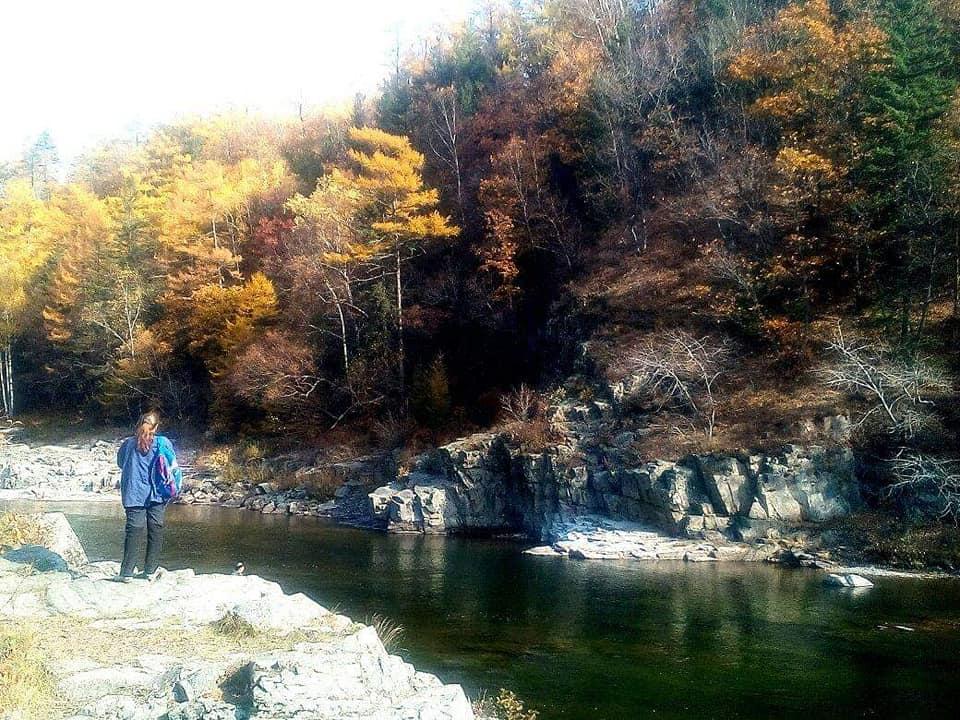Vladivostok herfstkleuren